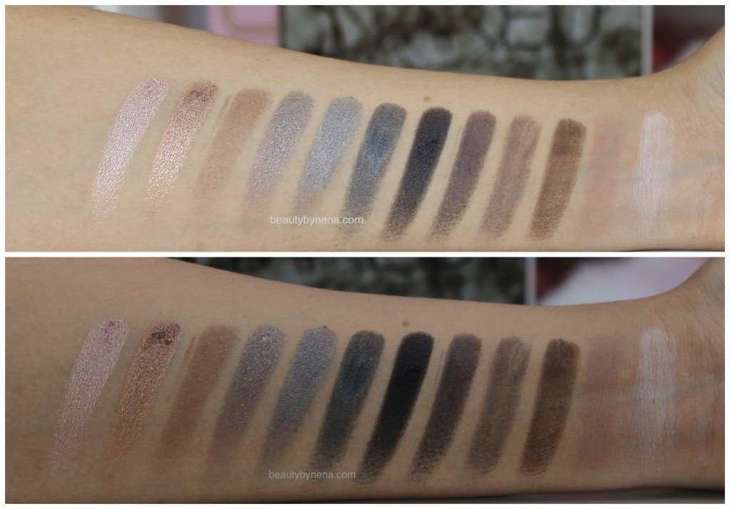 NAKED SMOKY SWATCHES